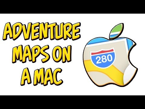 How download and install Minecraft 1.7.4 Adventure Maps on a Mac