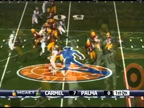 Carmel High School vs. Palma High School: 2013 High School Football (09/07/13)