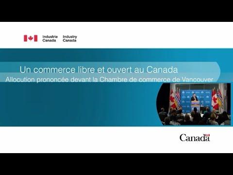 Allocution à la Chambre de commerce de Vancouver