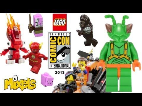 LEGO at San Diego Comic Con 2013: My Thoughts! 2014 Batman set, Mixels
