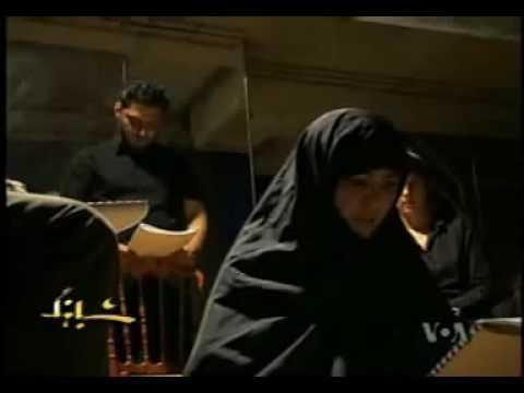 مصاحبه صدای آمریکا با شبنم طلوعی و زهرا امیرابراهیمی
