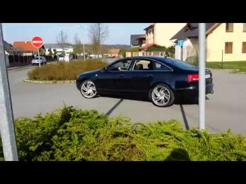 Audi A6 3.0 tdi - Straight pipe exhaust