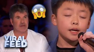 Download Lagu THE BEST AMERICAS GOT TALENT SINGER EVER  VIRAL FEED MP3