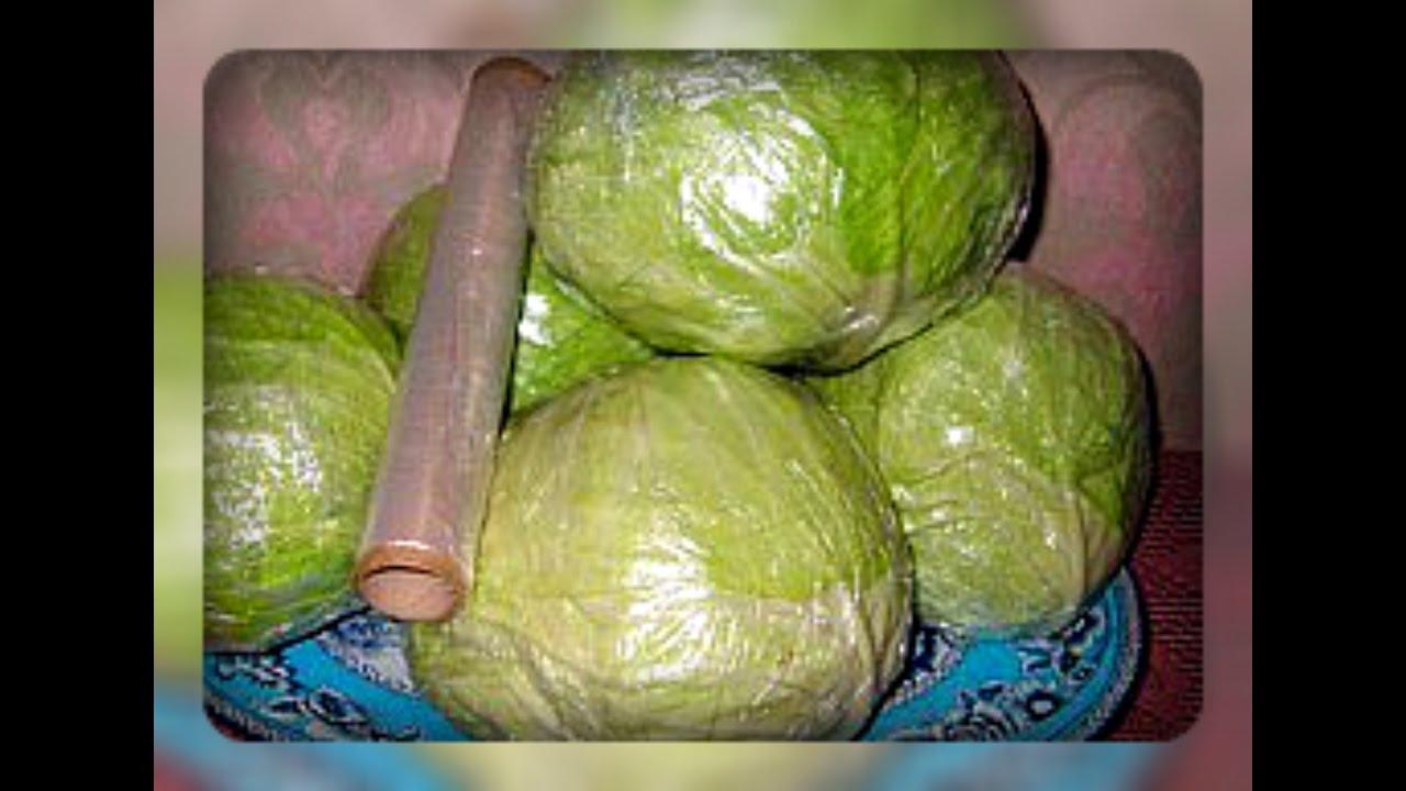 Как сохранить капусту в домашних условиях в квартире 669