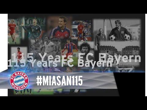 Happy 115th Birthday FC Bayern