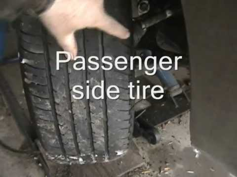 How To Set Front End And 4 Wheel Alignment With A String