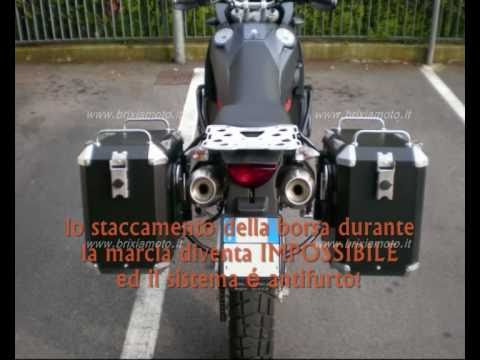 Valigie Alluminio Aluminium MyTech BMW GS Africa Twin Stelvio Waterproof Cases Koffer Wasserdicht Music Videos