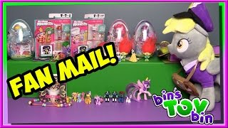 What's Inside The GIANT BOX!? | Fan Mail | Bin's Toy Bin