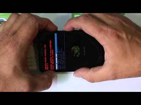 Motorola Droid Ultra Factory Reset in Stock Recovery