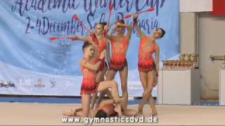 Juniorgroup Bulgaria - Academic Wintercup Sofia 2016