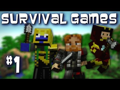 Minecraft: Survival Games w/ Sly, Nova, & Kootra Episode 1