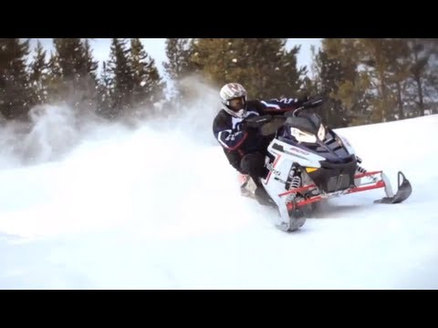 2012 Polaris Switchback 800 Pro-R Snowmobile Review
