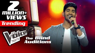Shemil Clinson | En Jeevan | Blind Auditions | The Voice Teens Sri Lanka
