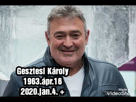 In memoriam Gesztesi Károly...