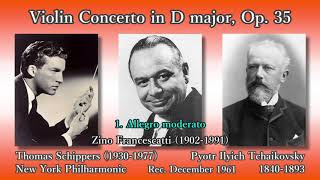 Tchaikovsky: Violin Concerto, Francescatti & Schippers (1961) チャイコフスキー ヴァイオリン協奏曲 フランチェスカッティ