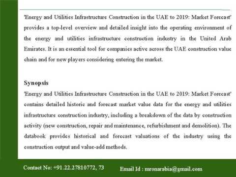 Energy & Utilities Infrastructure Construction