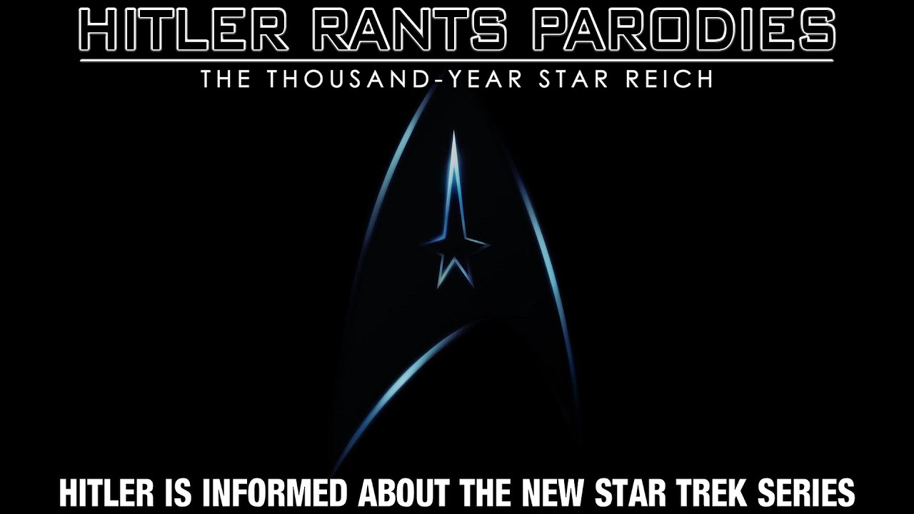 Hitler is informed about the new Star Trek series