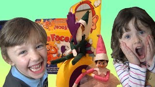 Fun for the Holidays with Ava Isla and Olivia Advent Toys and Elf on the Shelf