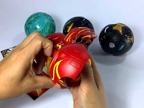 Bakugan Fire Dragon King (red Inflammation Dragon).3gp video