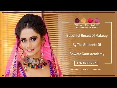 Beautiful Result Of Makeup By The Student Of Shweta Gaur Make Up Academy