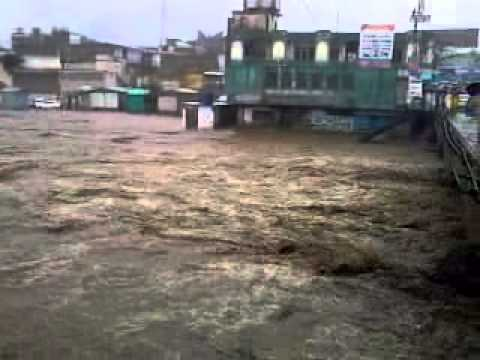 Mingora Swat Flood 28 07 2010 video