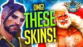 Overwatch - The BEST Winter Wonderland Skin Concepts!