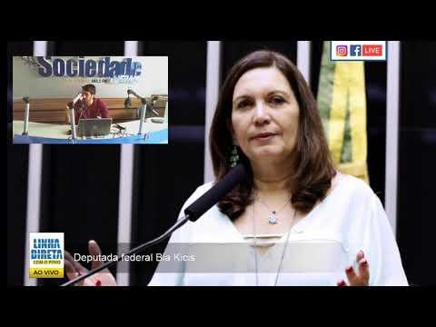 'Estarei com o presidente Bolsonaro onde ele estiver', diz deputada federal Bia Kics