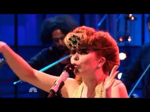 Paloma Faith- Picking Up The Pieces  (Tonight Show with Jay Leno)