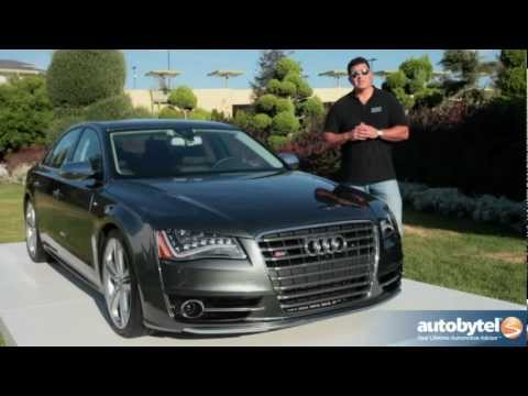 2013 Audi S8 Test Drive & Luxury Car Video Review