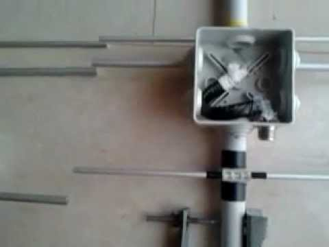 Antenna directional pmr homemade part 1