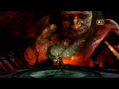 God of War 3 Detonado - Cronos VS Kratos - 11
