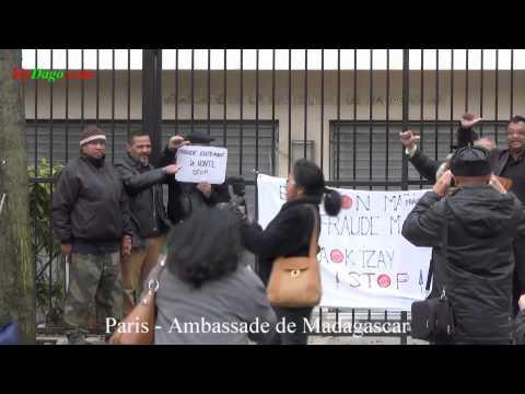 fraudes électorales à Madagascar - La diaspora dénonce