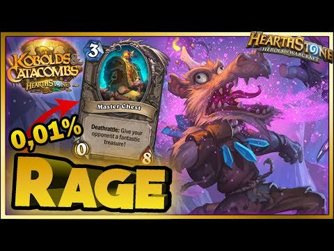 Hearthstone - WTF Moments, RAGE - Kobolds and Catacombs Funny Rng Moments