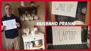 RAE DUNN HUSBAND PRANK - SURPRISE IN THE KITCHEN | beingmommywithstyle