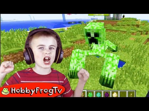 MINECRAFT MOD Kids Video Game Compilation with HobbyFrog
