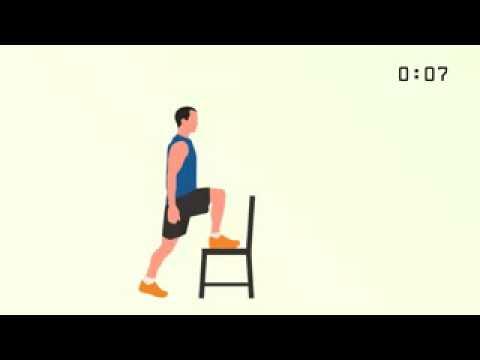 Panduan OlahRaga ringan 7 menit dengan Smart Detox