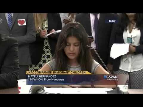 Unaccompanied Children Mayeli, Dulce and Saul Testify before Congress