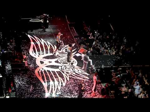Aerosmith at American Airline Center 2012