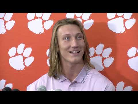 Trevor Lawrence, Tigers ready to hit the road