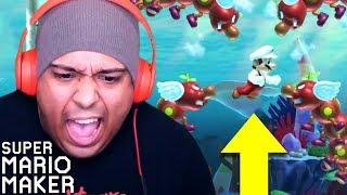 THESE LEVELS LITERALLY GOT ME DROWNING!! I CAN'T!! [SUPER MARIO MAKER] [#178]