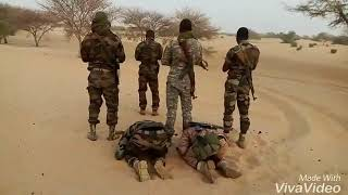 Nigerian | Niger Army at Desert of Sambia fighting of Boko Haram