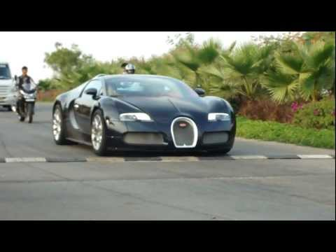 Bugatti Veyron in Hyderabad (India) Part 1