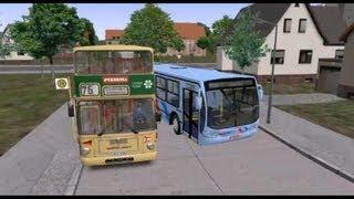 Omsi bus 遊車河 (017) Busscar Urbanuss Pluss Scania K270 in Grundorf map