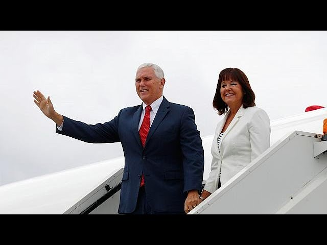 Mike Pence begins Baltics visit