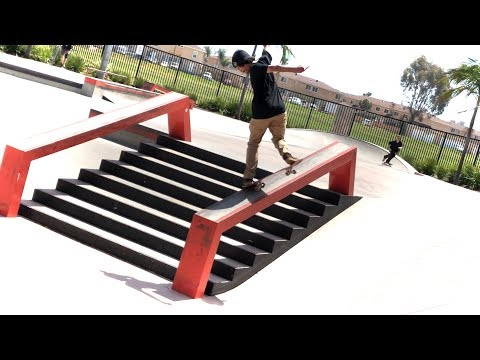 SKATE DAY WITH ROMAN, VINNIE, CAMP AND FRIENDS !!!  - NKA VIDS -