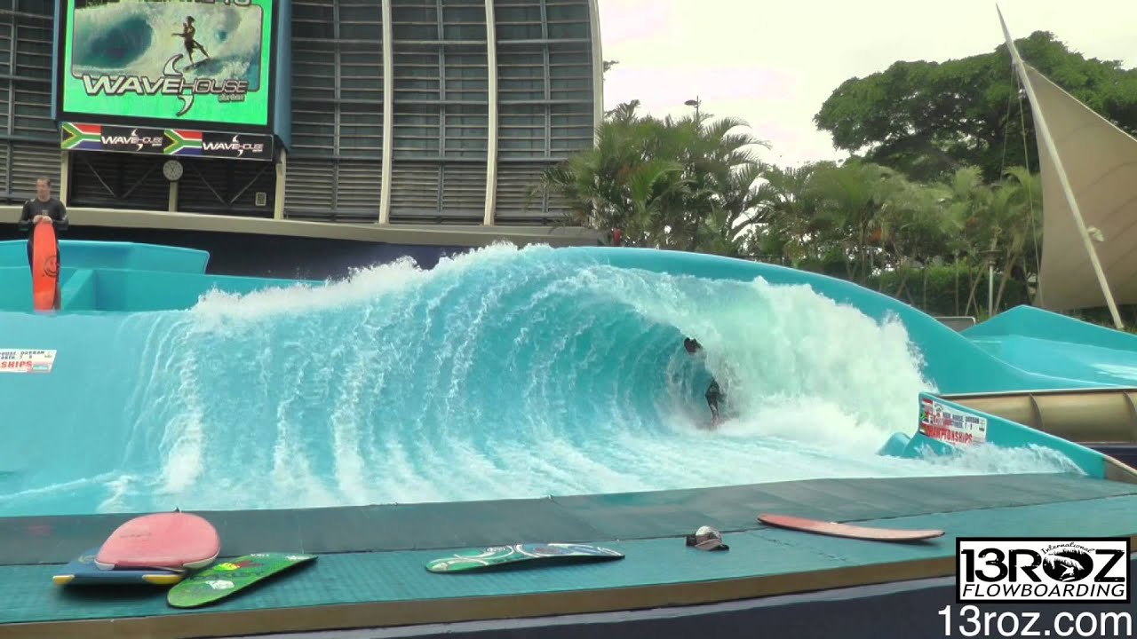 Wave House Commerical Shoot Double Barrel Durban - YouTube