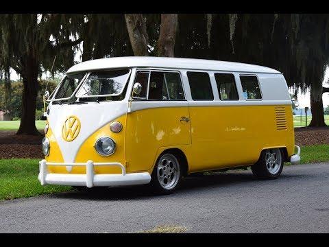 Electric Volkswagen Bus