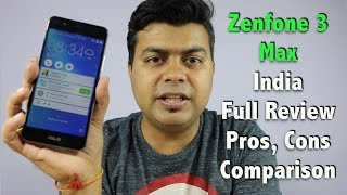 Hindi | Zenfone 3 Max India Full Review, Pros, Cons, Comparison, Worth it or Not | Gadgets To Use