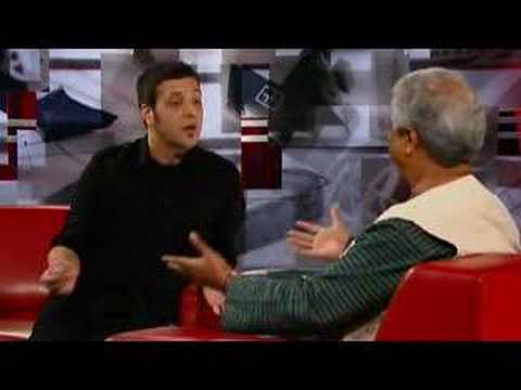 Muhammed Yunus on The Hour with George Stroumboulopoulos