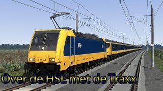 Over de HSL met de Traxx - Train Simulator 2018